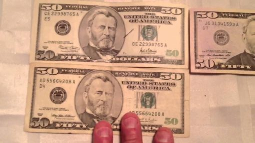 Buy Counterfeit 50 USD bills online