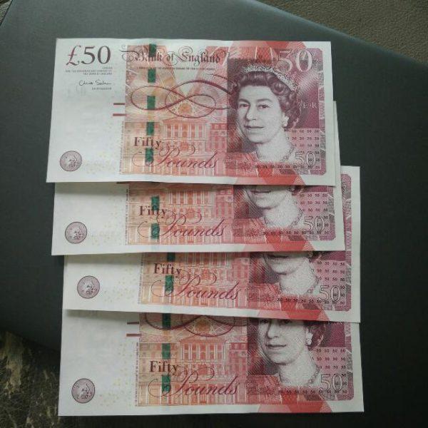 Buy 50 GBP counterfeit money online
