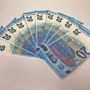 Buy fake 20 euro bills