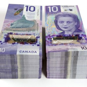 Buy counterfeit Canadian 10 dollars